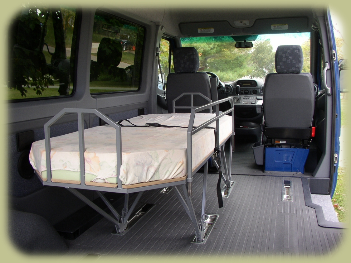 Traveling Bed for Dodge Sprinter Van