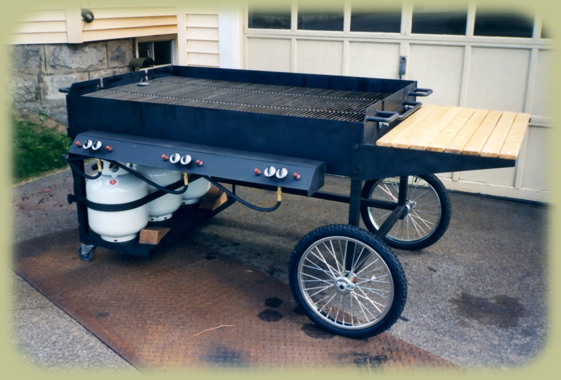 Large Propane Grill, 6 H Burners